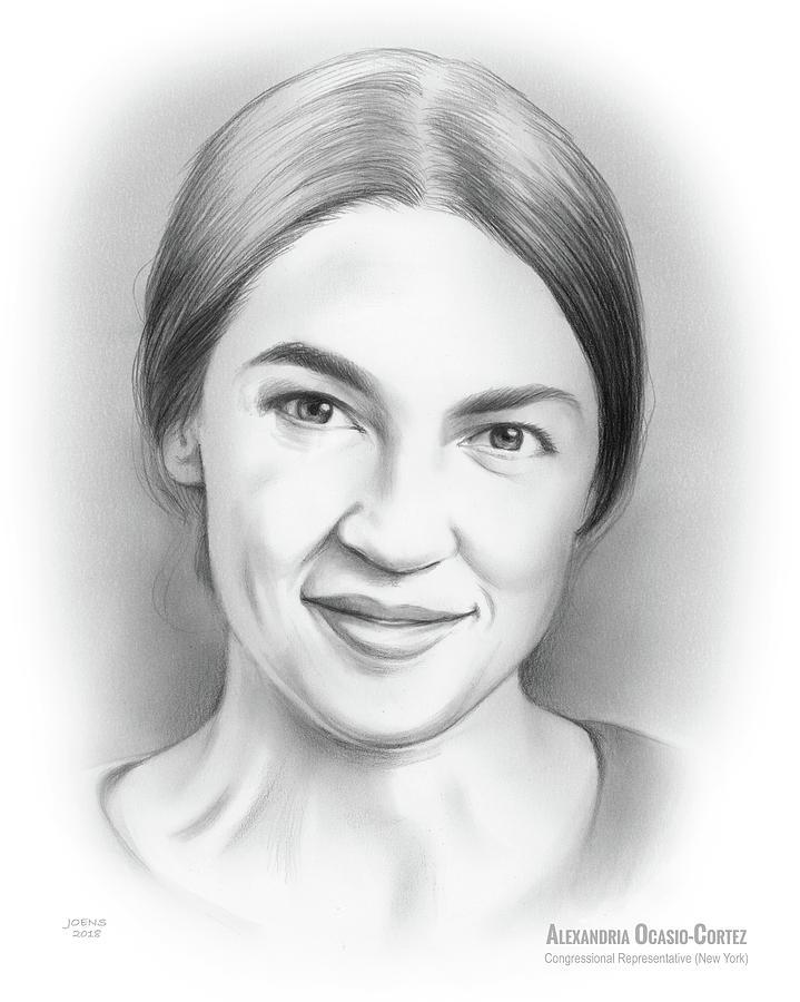 Alexandria Ocasio-cortez Drawing