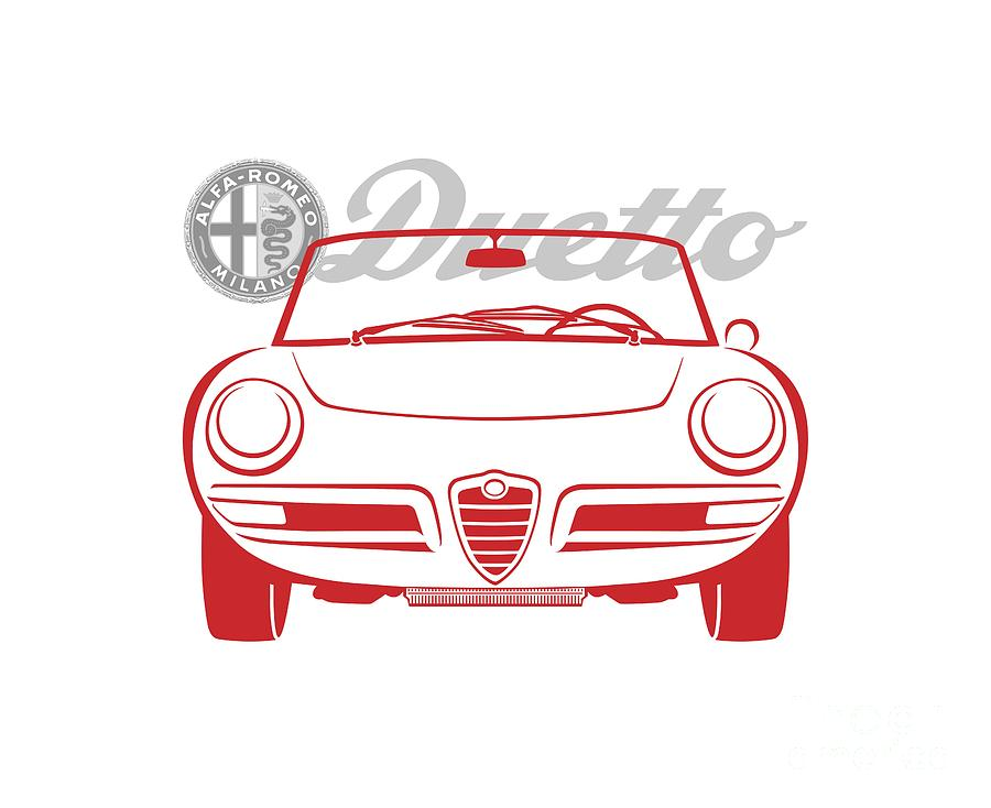 Alfa Duetto Spider-2 by Rick Andreoli