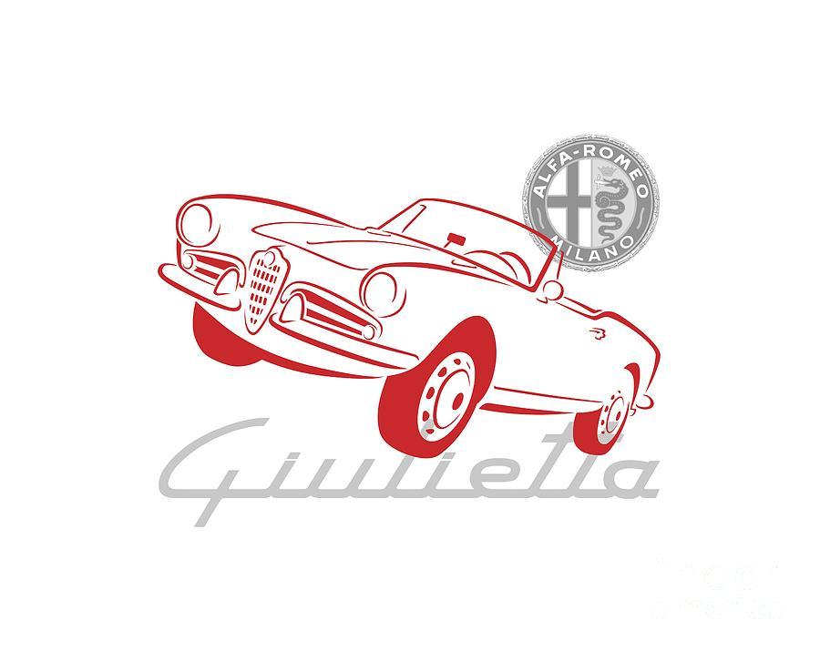 Alfa Giulietta Spider-1 by Rick Andreoli