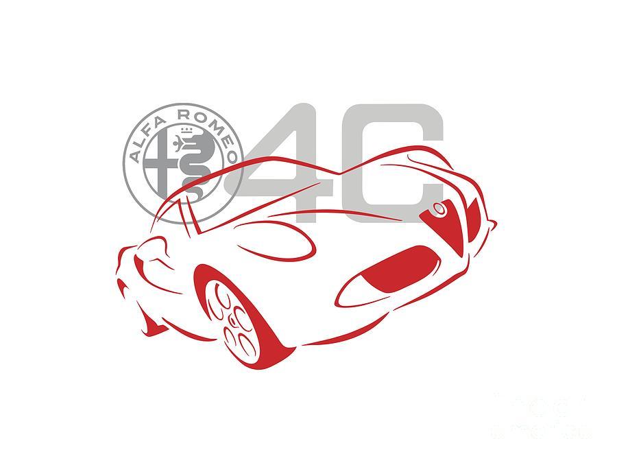 Alfa Romeo 4C-1 by Rick Andreoli