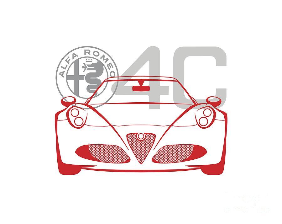 Alfa Romeo 4C-2 by Rick Andreoli