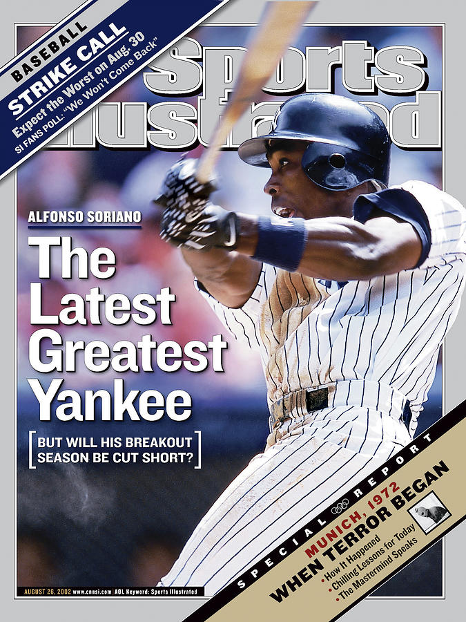 Alfonso Soriano The Latest Greatest Yankee Sports Illustrated Cover Photograph by Sports Illustrated