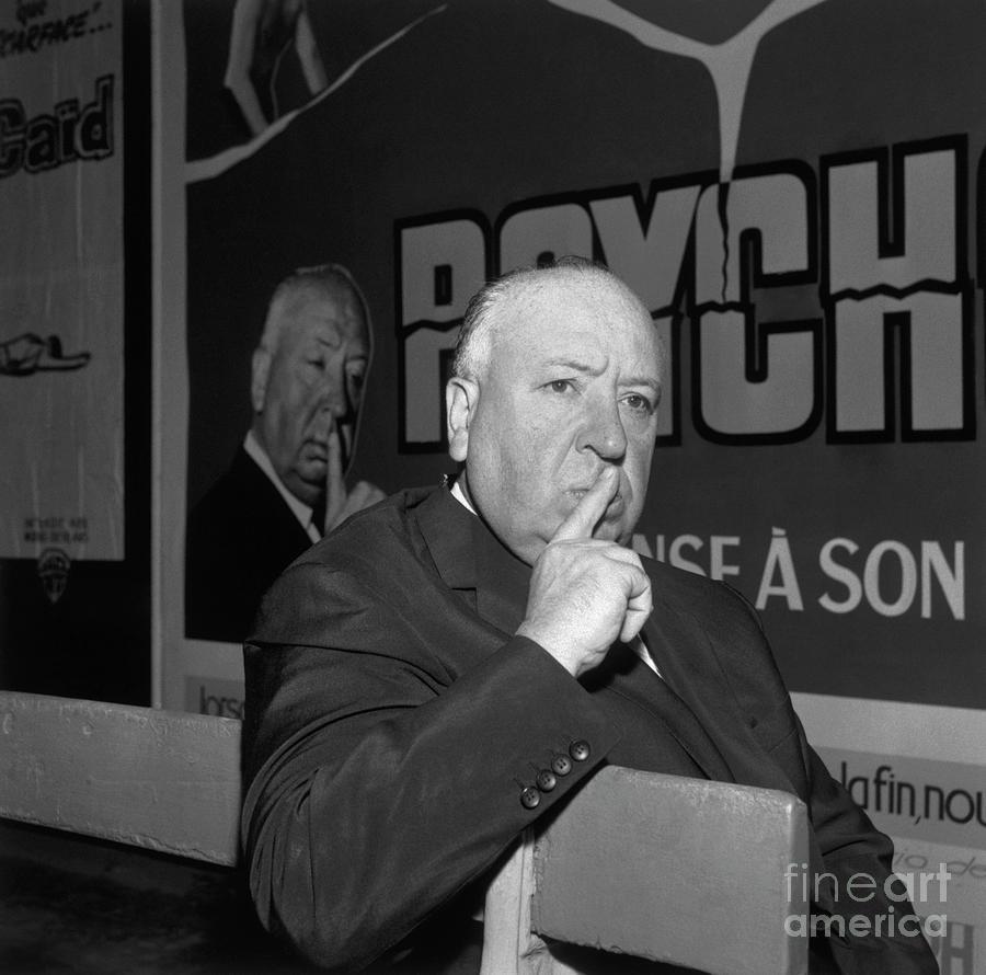 Alfred Hitchcock Mocking Scene Photograph by Bettmann