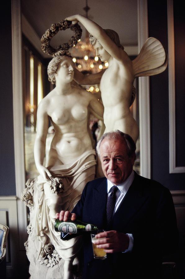 Alfredo Heineken Photograph by Slim Aarons