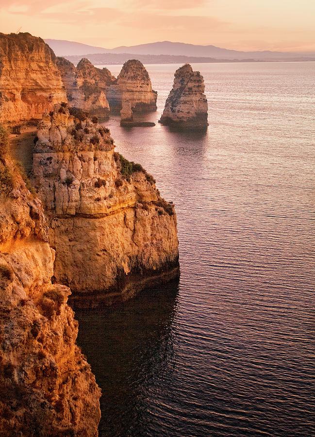Algarve Coastline, Lagos, Portugal Photograph by Zu Sanchez Photography