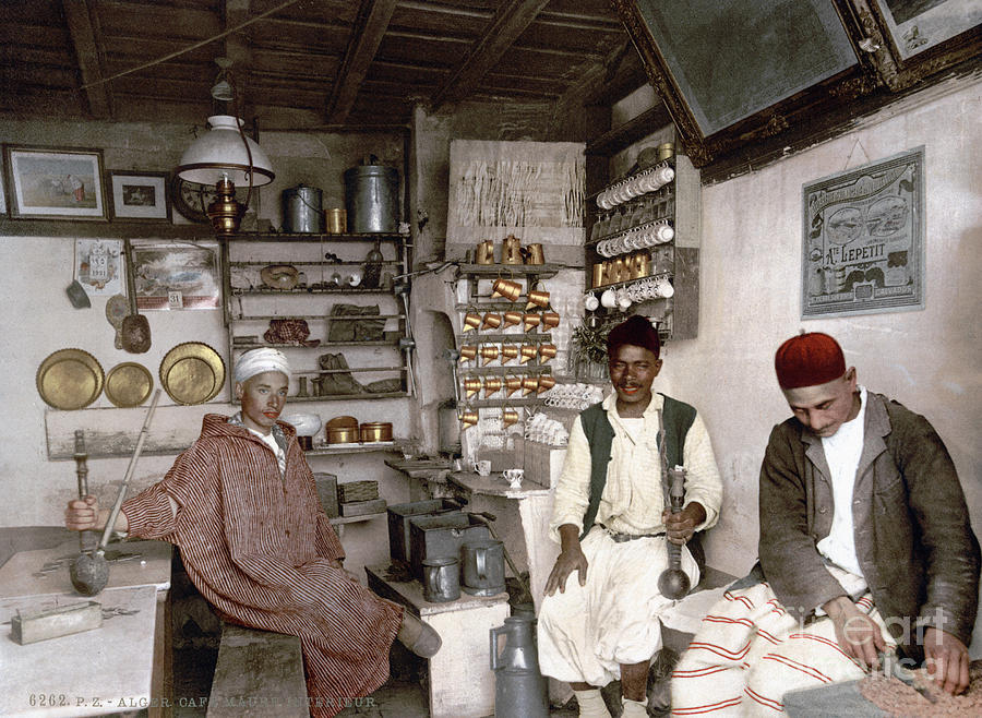 Algerian Coffee House, c1899 by Granger