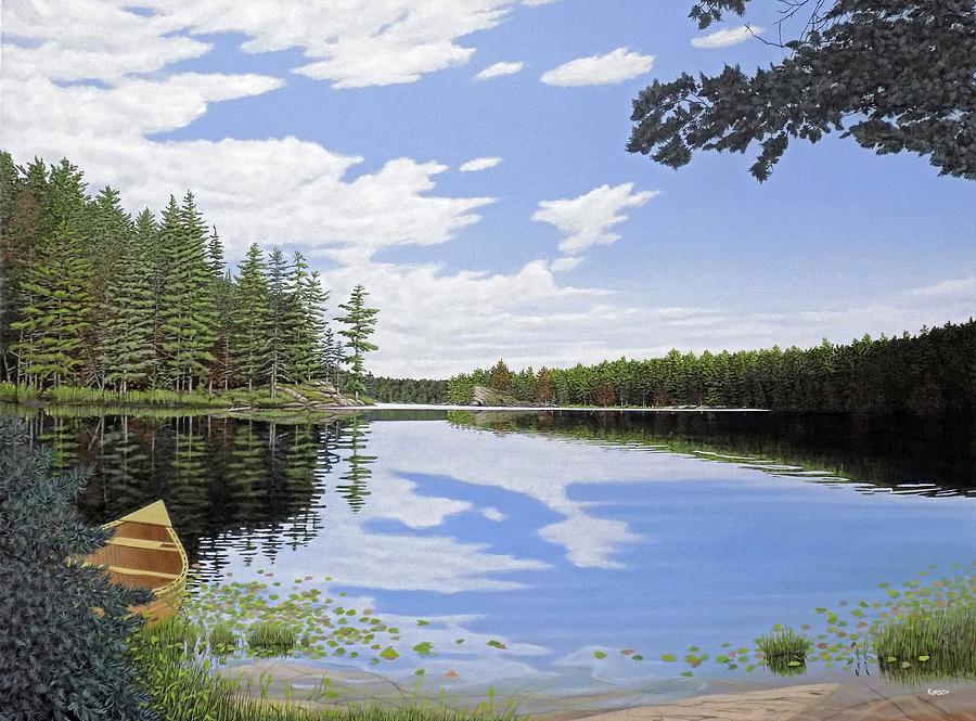 Algonquin Portage by Kenneth M Kirsch