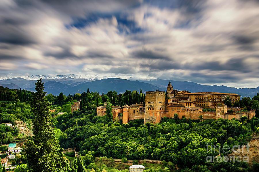 Alhambra Photograph - Alhambra by Alessandro Giorgi Art Photography