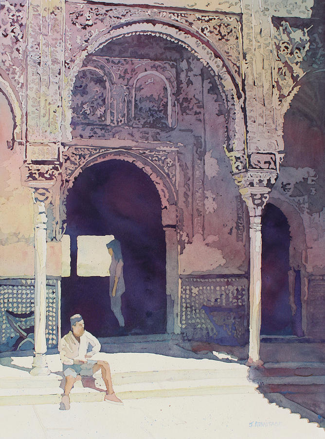 Alhambra Muse by Jenny Armitage