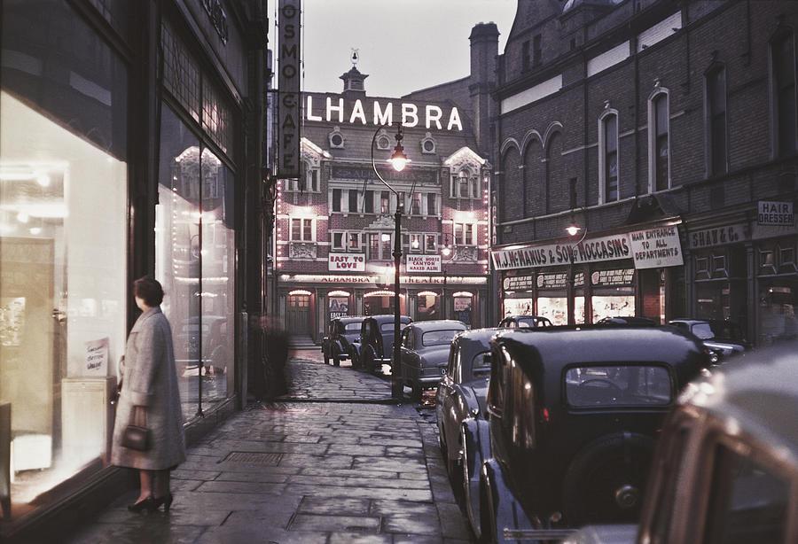 Alhambra Theatre Belfast Photograph by Bert Hardy