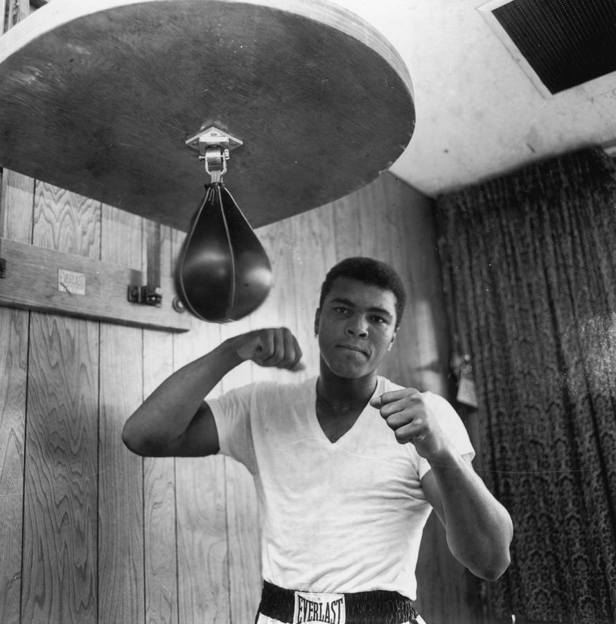Ali In Training Photograph by Harry Benson