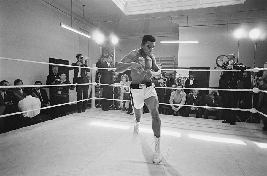 Ali In Training Photograph by R. Mcphedran