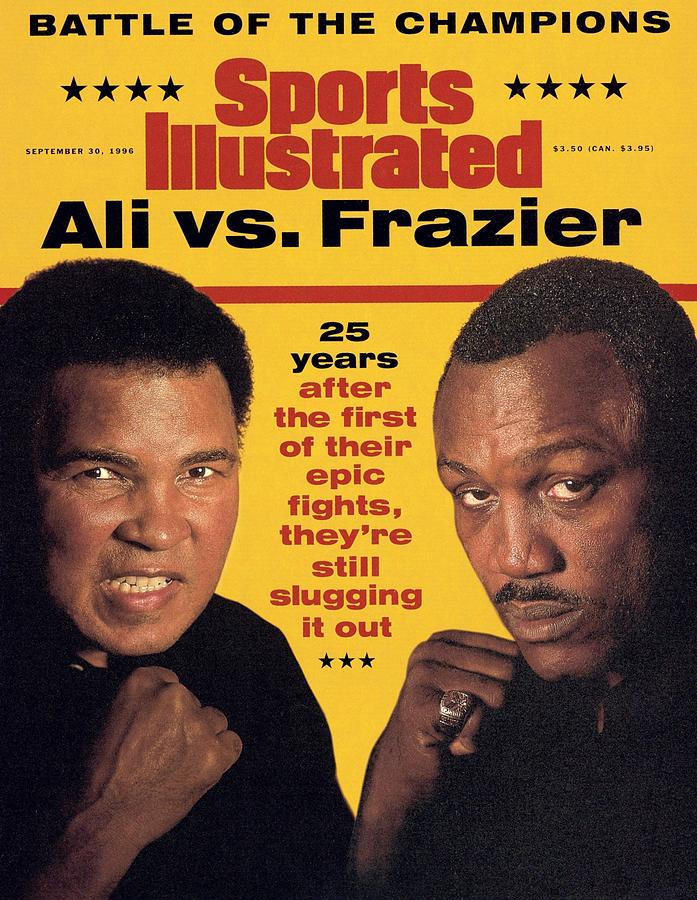 Ali Vs Frazier, 25 Years Later Sports Illustrated Cover Photograph by Sports Illustrated