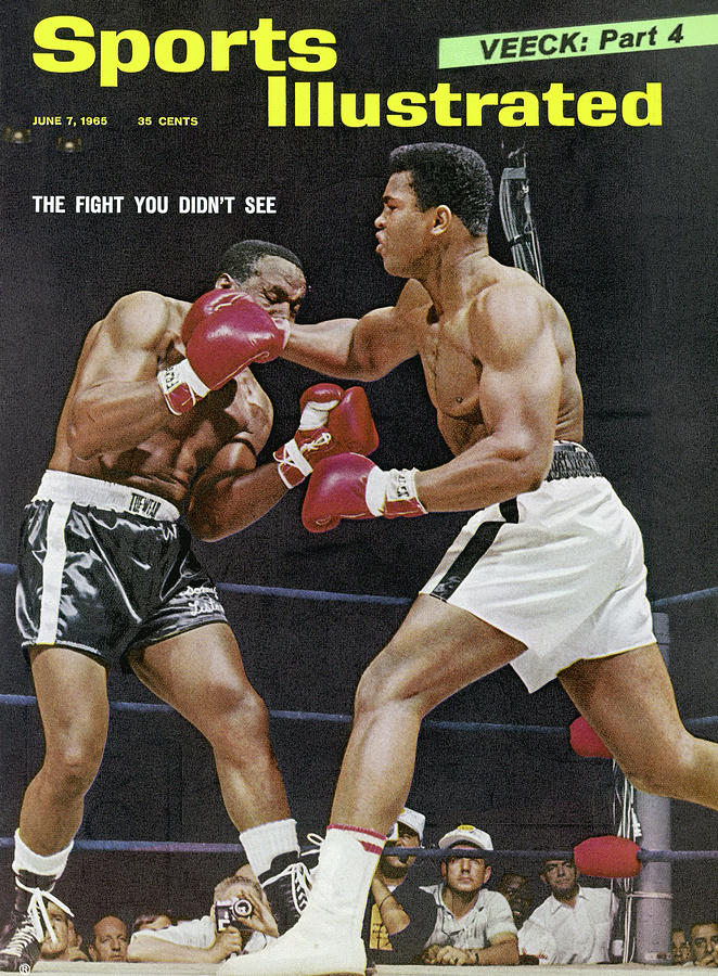 Ali Vs Liston The Fight You Didnt See Sports Illustrated Cover Photograph by Sports Illustrated