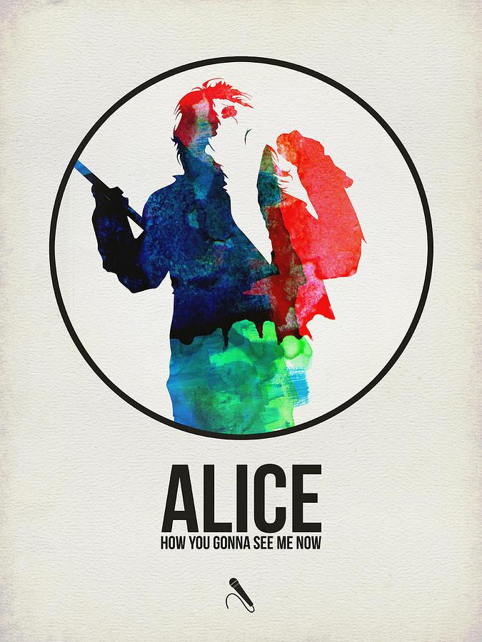 Alice Cooper Digital Art - Alice Cooper by Naxart Studio