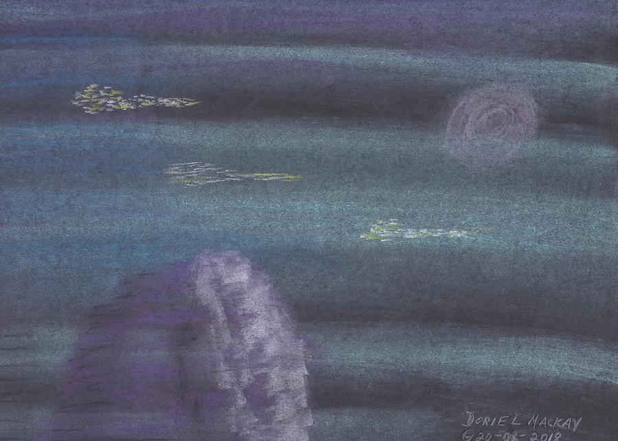 Alien Spaceship from Rama Empire on the Moon by Doriel Mackay