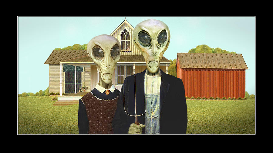 Alien Vacation - Eldon Iowa, by Mike McGlothlen