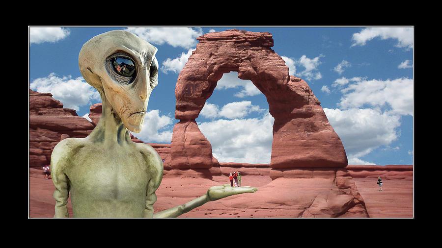 Alien Vacation - Moab, Utah by Mike McGlothlen