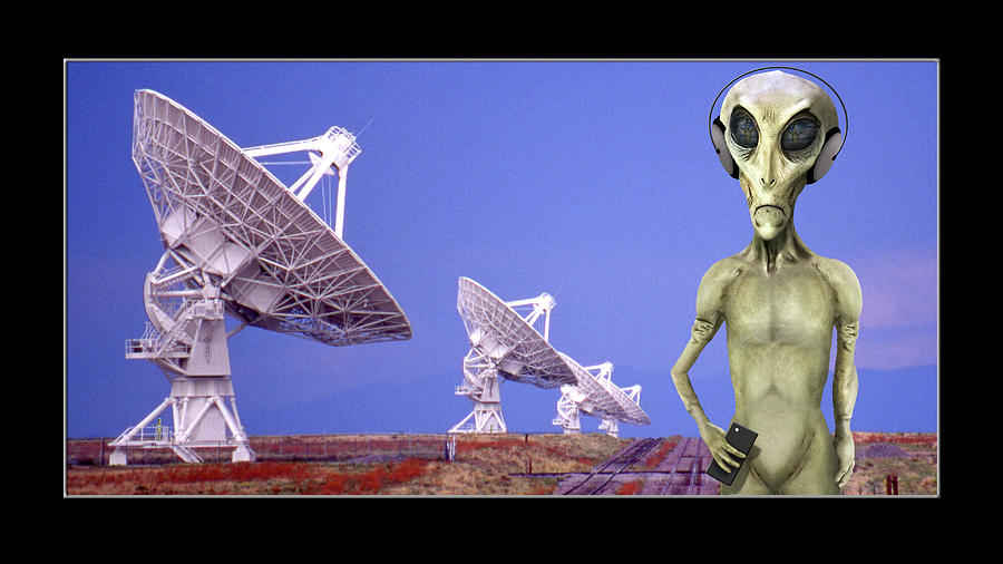 Alien Vacation - Socorro New Mexico by Mike McGlothlen