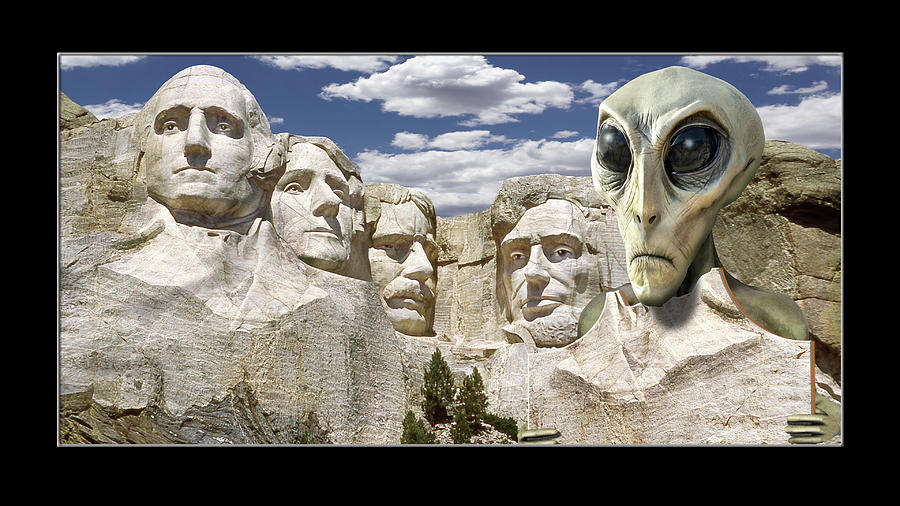 Alien Vacation - South Dakota by Mike McGlothlen