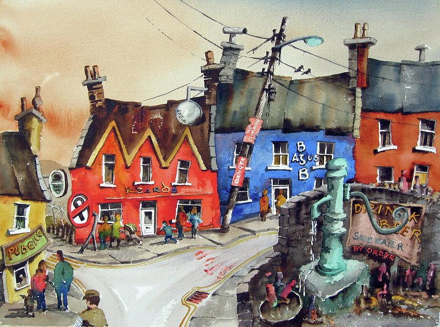 SAVE WATER in Eyeries Village West Cork by Val Byrne