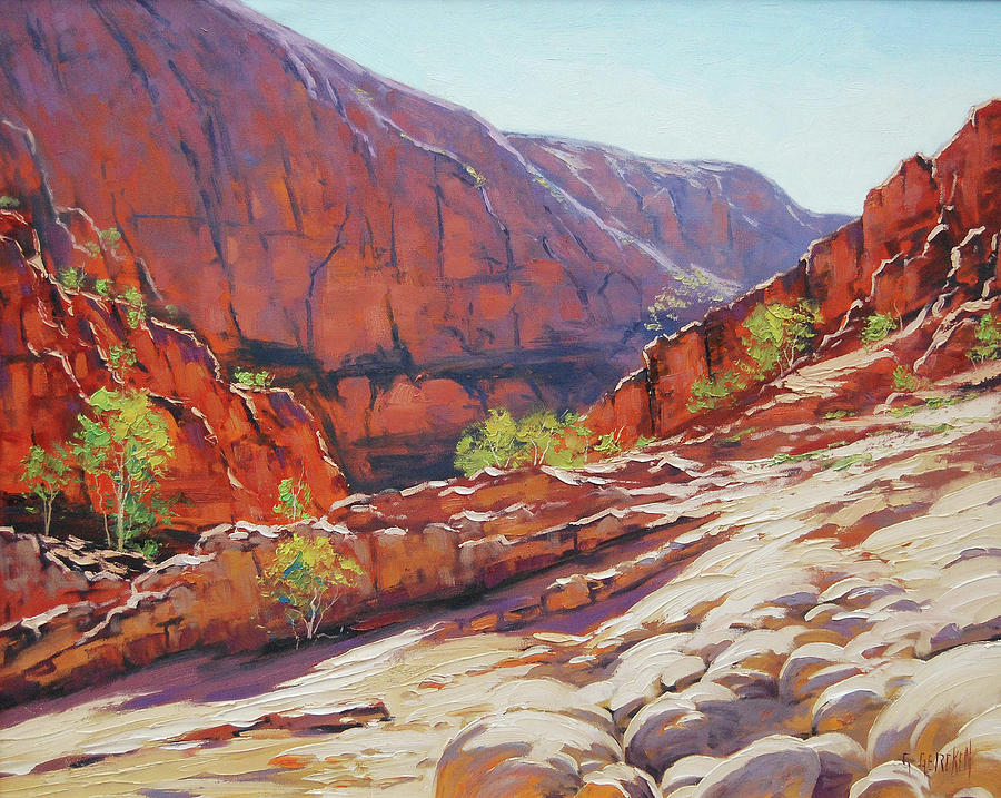 Alive Springs Ormiston Gorge Painting