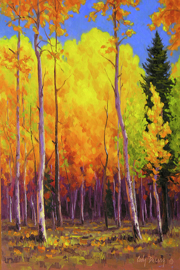 All Aglow Painting