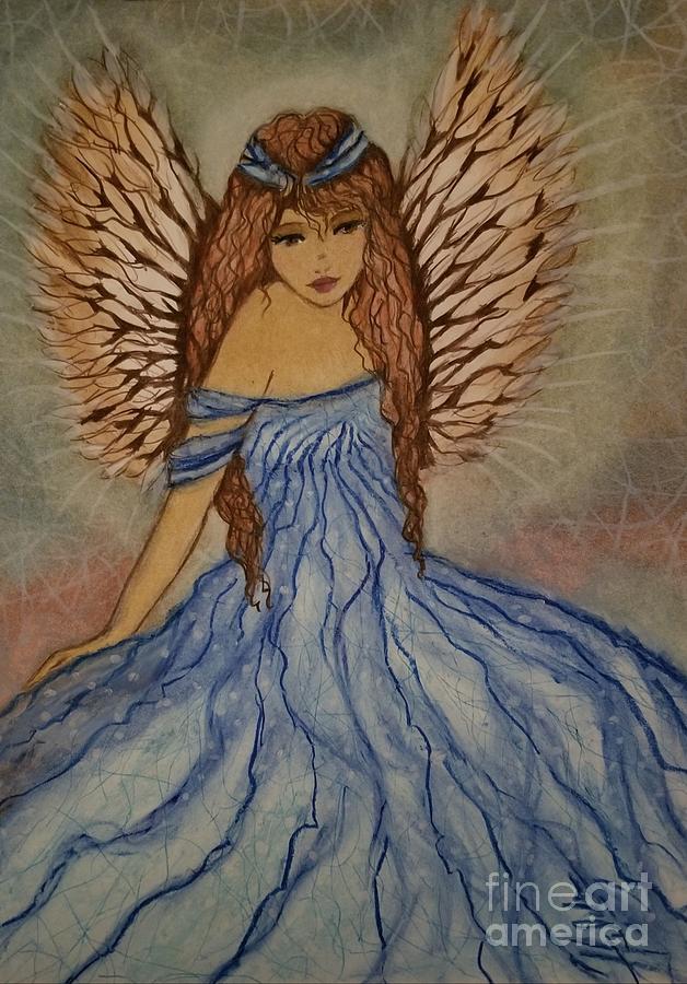 Angels Pastel - All Around by Hilda Lechuga