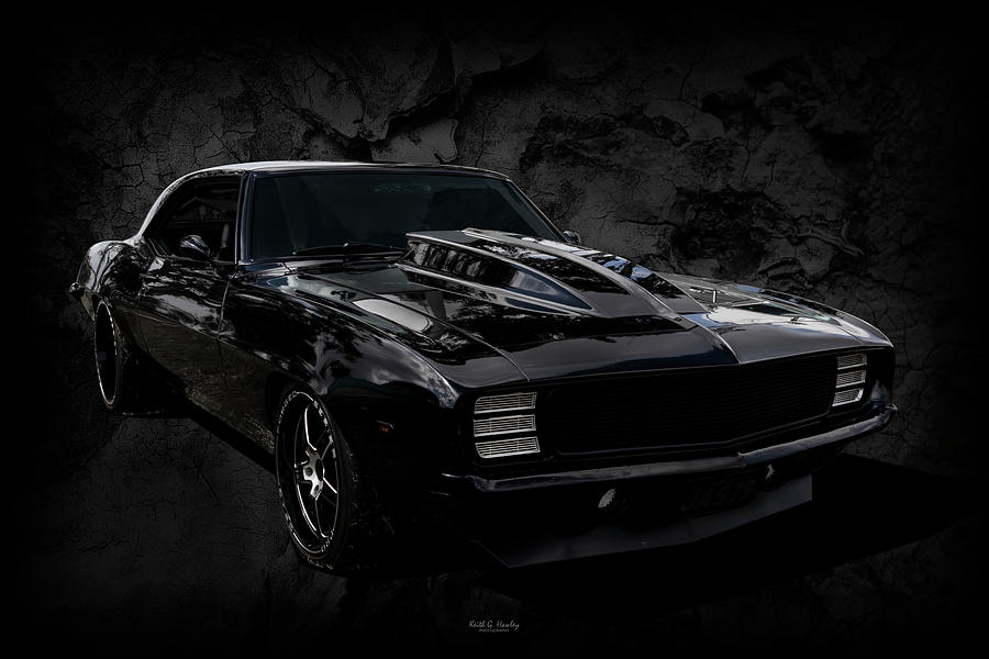 All Black Camaro by Keith Hawley