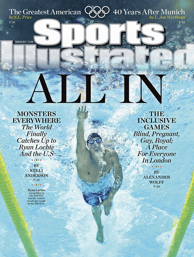 All In 2012 Summer Olympics Sports Illustrated Cover Photograph by Sports Illustrated