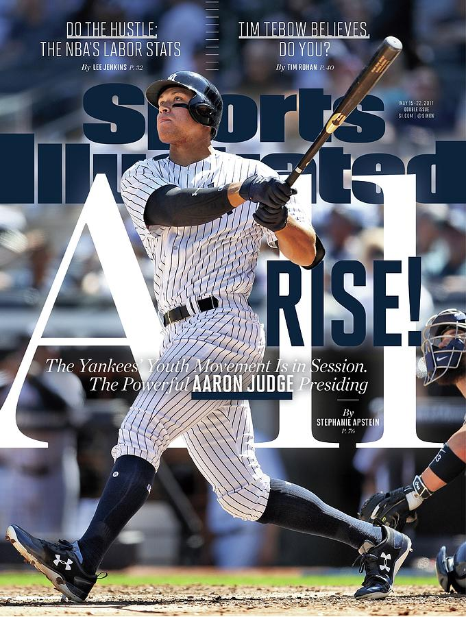 All Rise The Yankees Youth Movement Is In Session. The Sports Illustrated Cover Photograph by Sports Illustrated