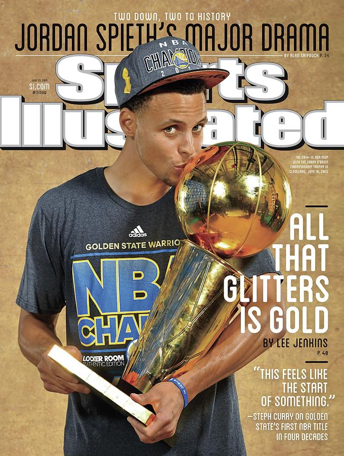 All That Glitters Is Gold Sports Illustrated Cover Photograph by Sports Illustrated