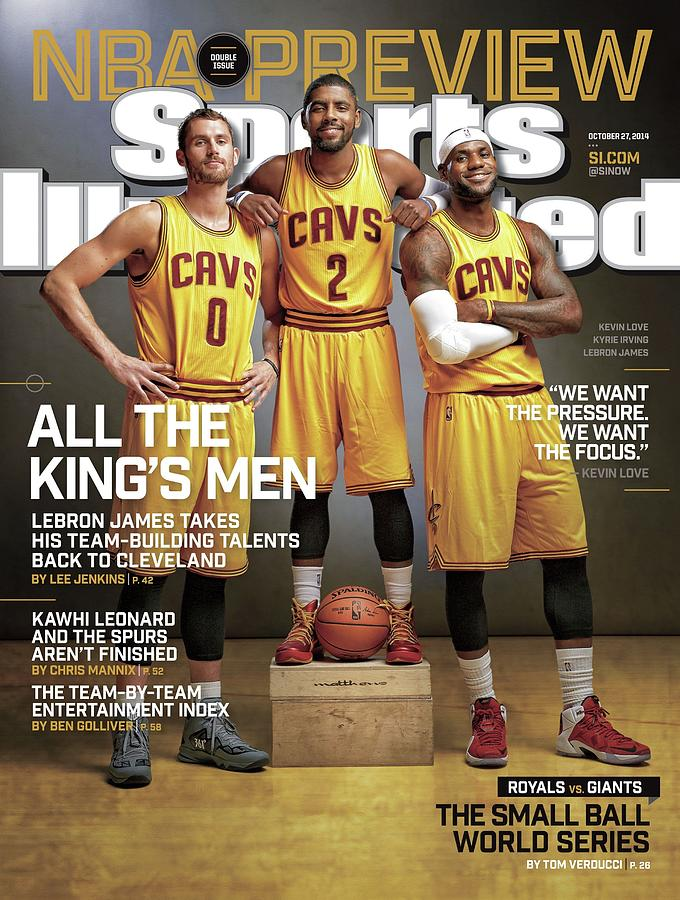 All The Kings Men 2014-15 Nba Basketball Preview Issue Sports Illustrated Cover Photograph by Sports Illustrated