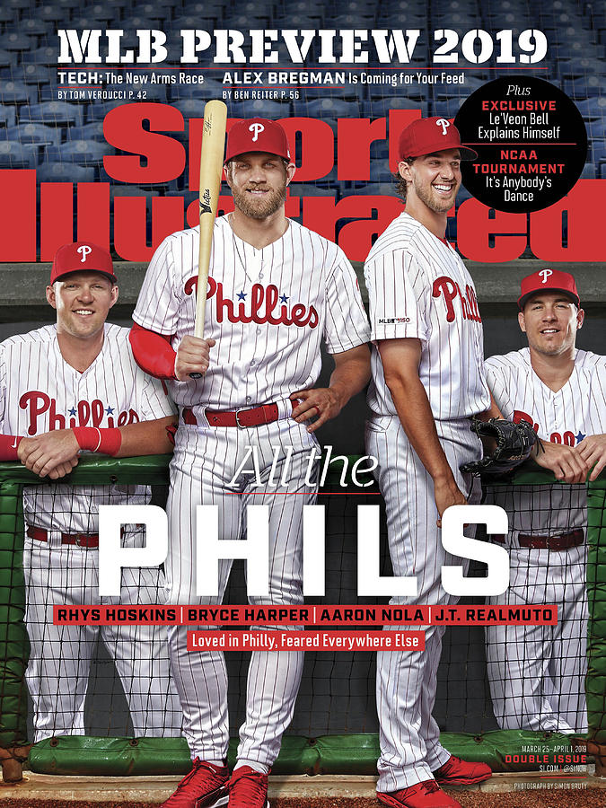 All The Phils 2019 Mlb Season Preview Sports Illustrated Cover Photograph by Sports Illustrated