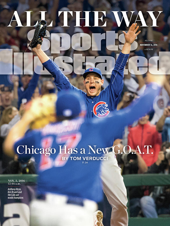 All The Way Chicago Has A New G.o.a.t. Sports Illustrated Cover Photograph by Sports Illustrated