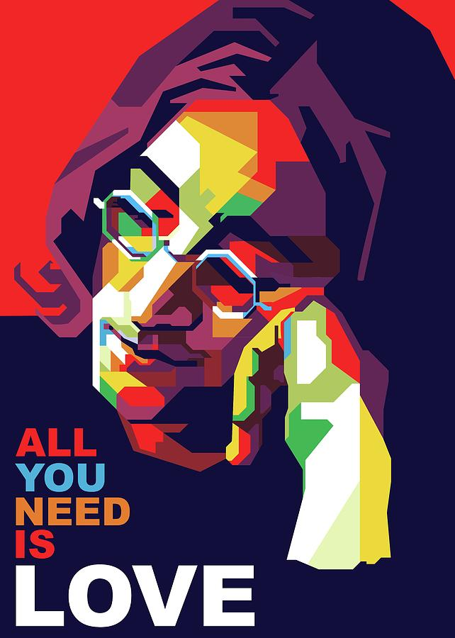 All You Need Is Love Digital Art By Fajar Gunawan