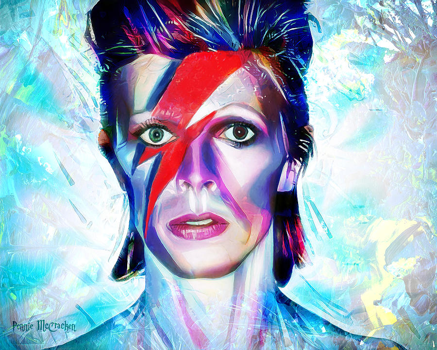 Aladdin Sane by Pennie McCracken