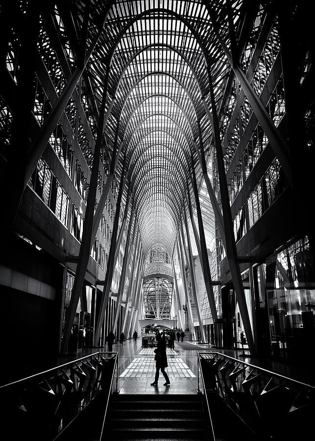 Allen Lambert Galleria Toronto Canada No 2 by Brian Carson