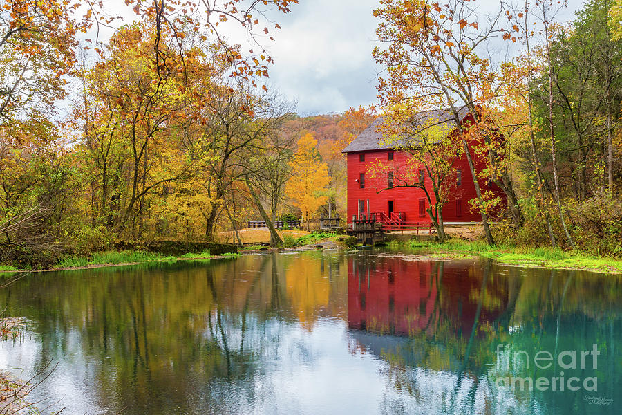 Ozarks Photograph - Alley Mill And Spring by Jennifer White