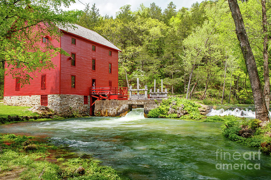 Alley Mill And Springs Photograph