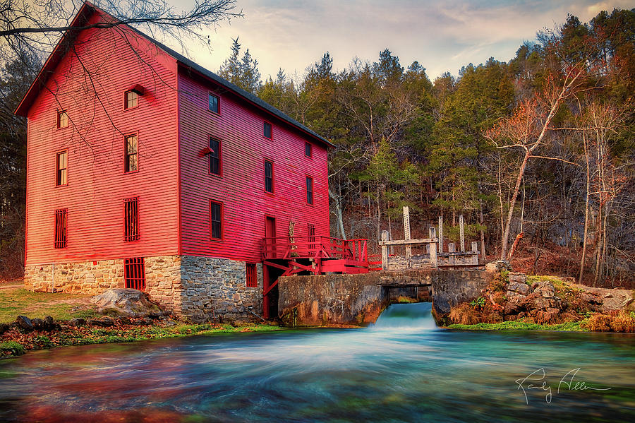 Alley Springs Mill by Randall Allen