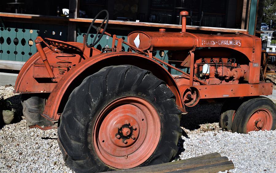 Allis Chalmers Tractor  by Warren Thompson