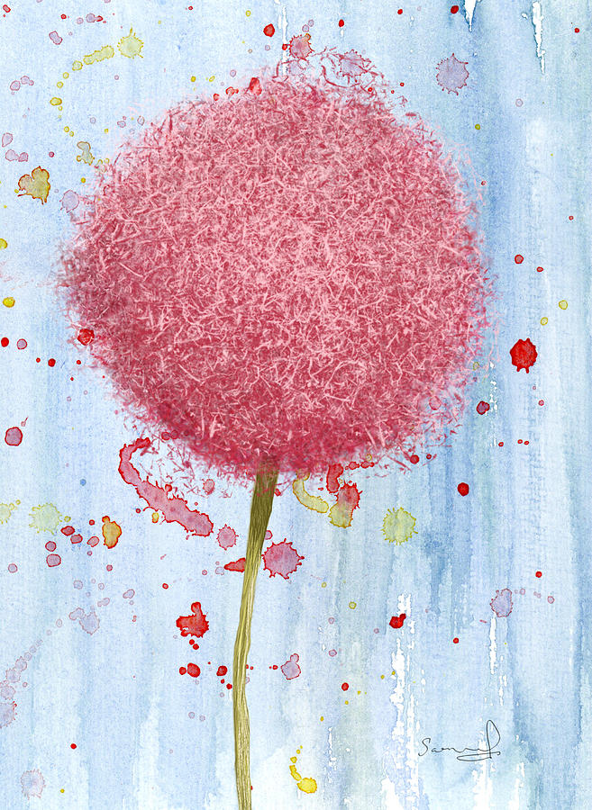 Allium Splash by Sannel Larson