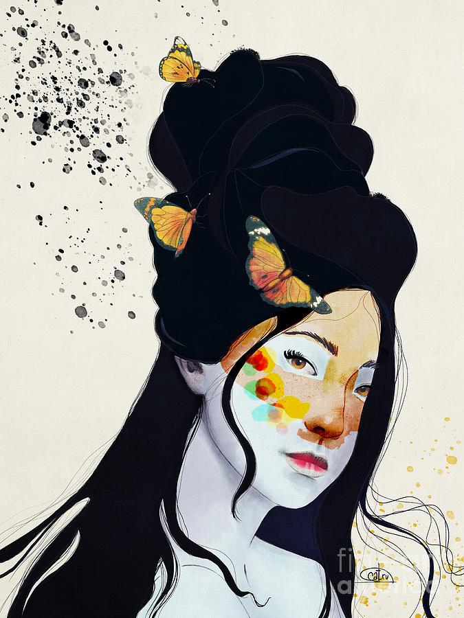 Alma De Fox Digital Art By Carina Povarchik
