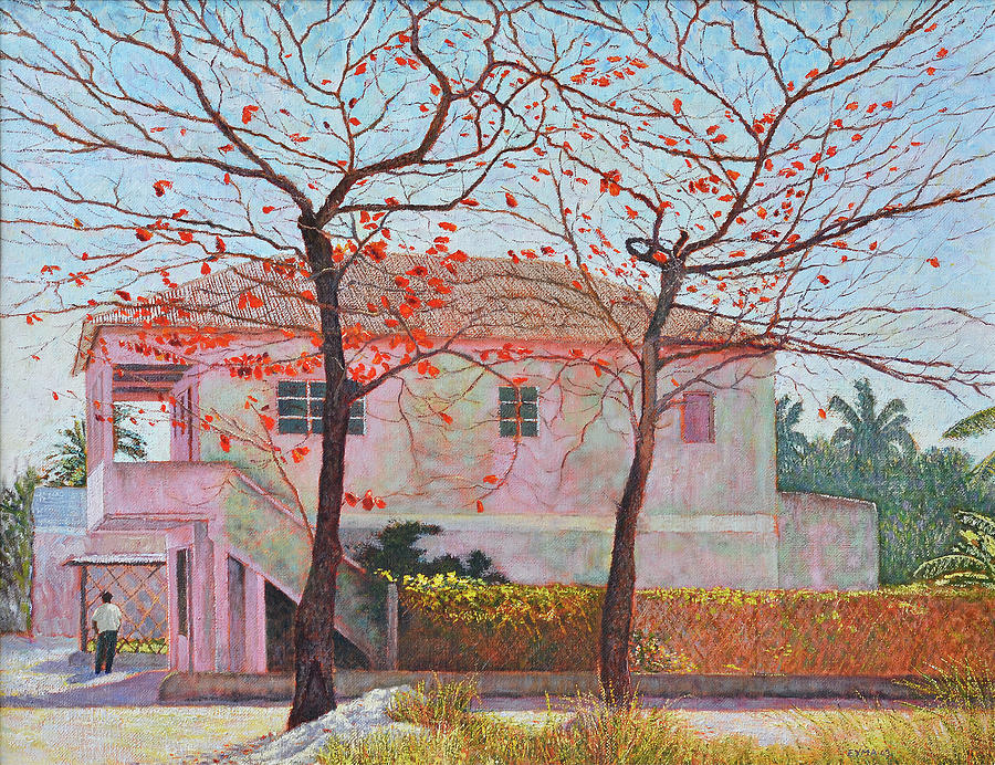 Almond Trees In February by Ritchie Eyma