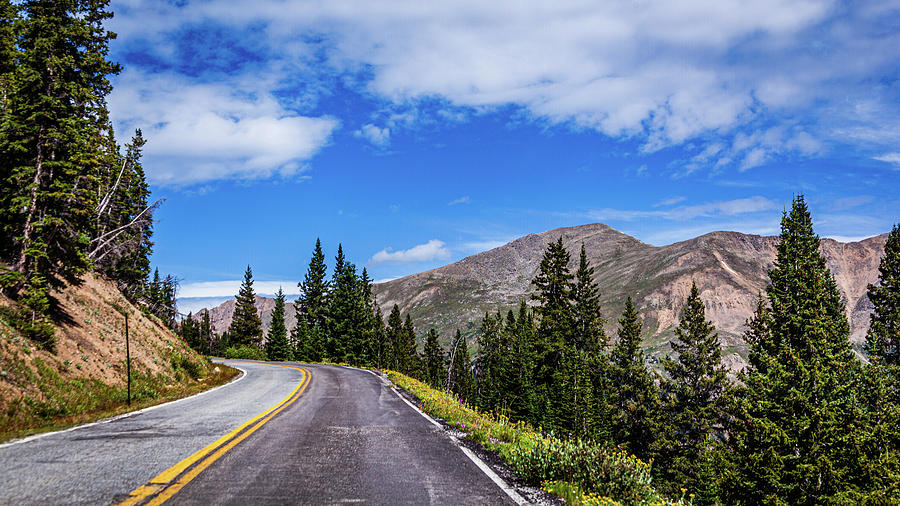 Almost To the Summit of Independence Pass by Jeanette Fellows