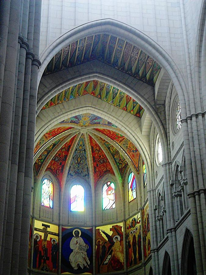 Almudena Cathedral 21 by John Hughes