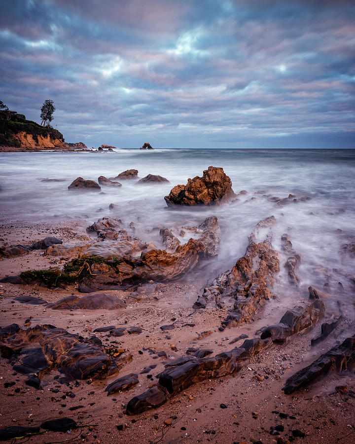 Coastal Photograph - Along The Coast by Nazeem Sheik