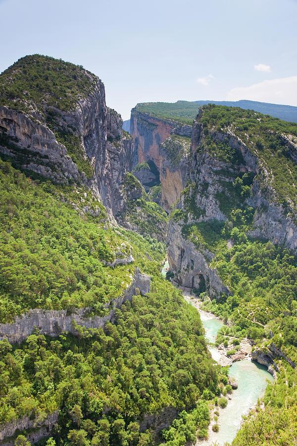 Alpes-de-haute-provence, Verdon River Photograph by Peter Adams