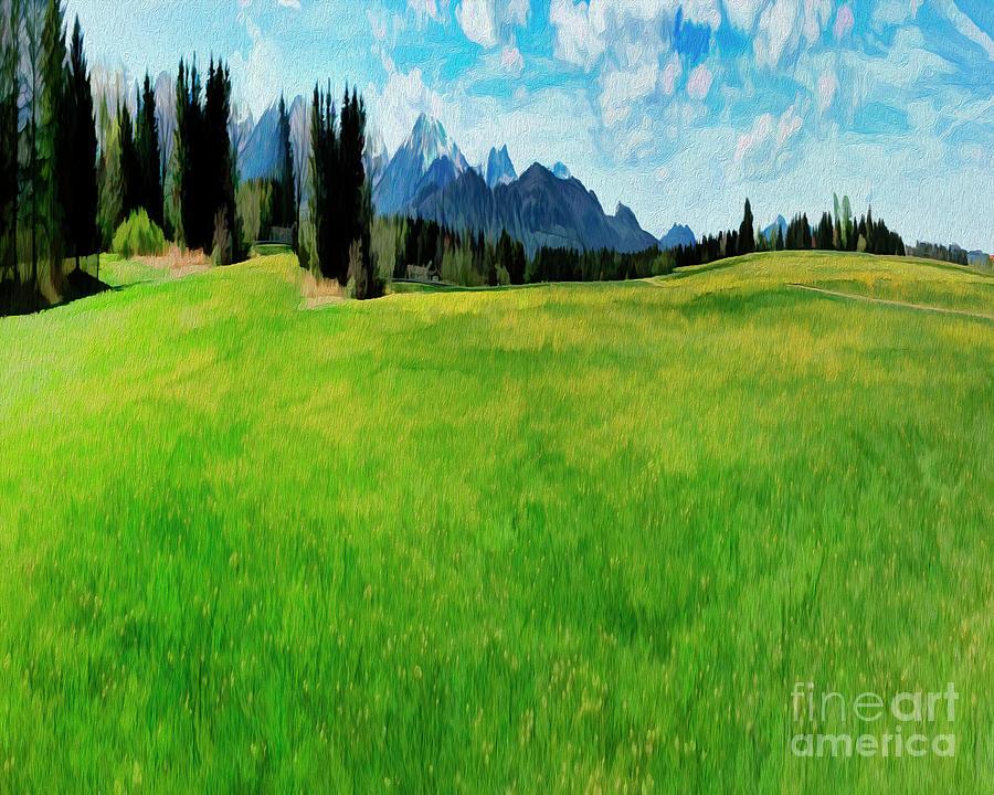 Alpine Green by Edmund Nagele
